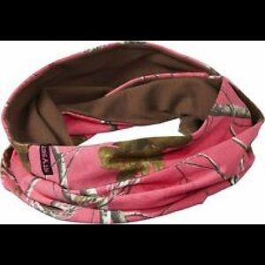 Realtree camouflage scarf neck warmer set of 2